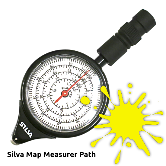 Silva+Map+Measurer+Path